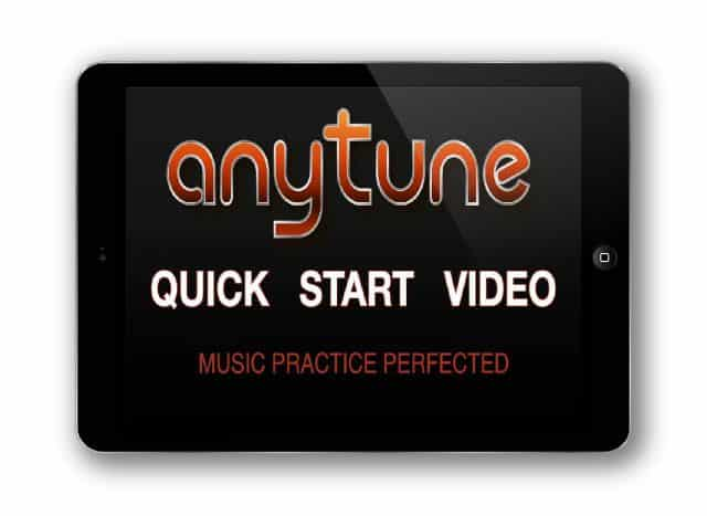 Play Anytune Quick Start Video for iPad