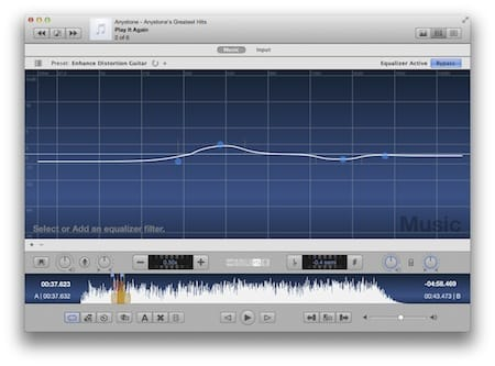 Anytune Mac Screen Shot - Pinpoint your instrument
