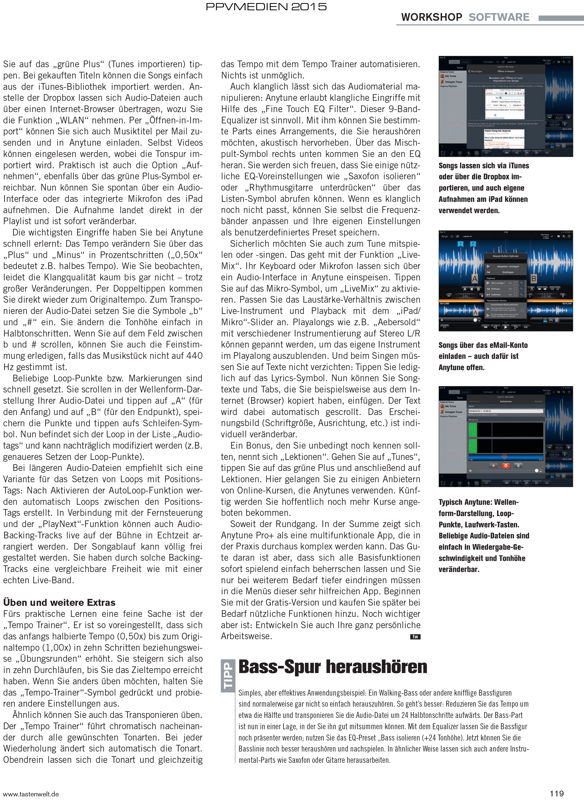 Anytune tastenwelt.de Test 2015 Seite 2